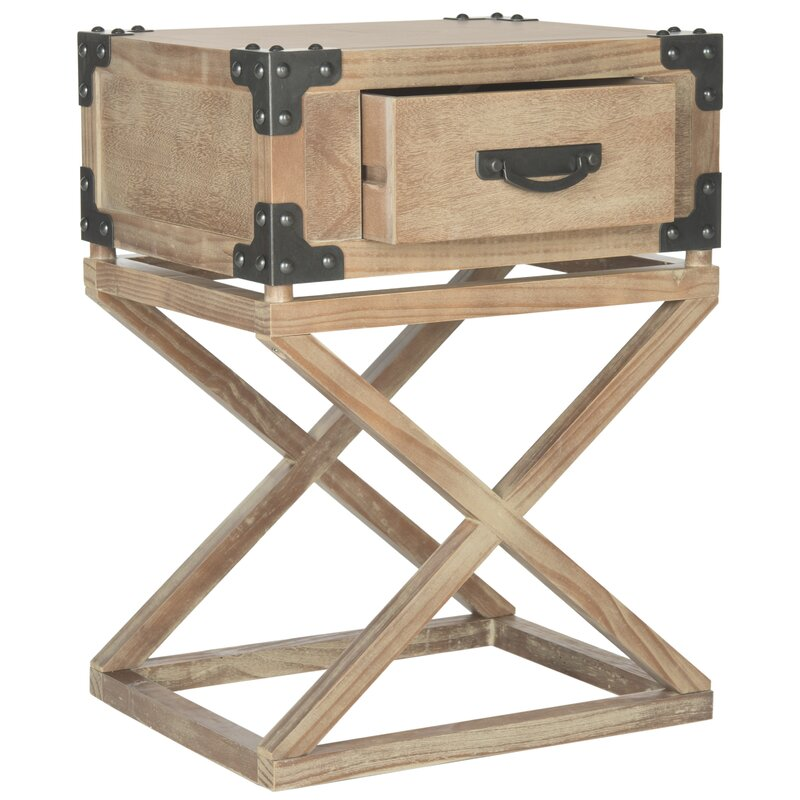 Agoura Hills Dunstan End Table With Storage