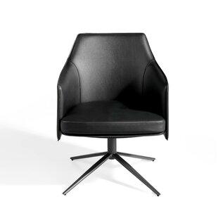 Geno Swivel Armchair By Ebern Designs