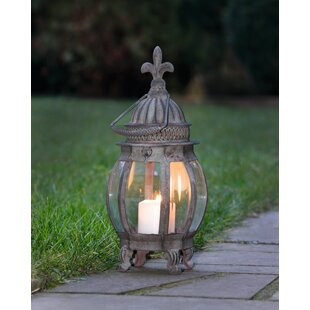 Metal/Glass Lantern By Pier Surplus Outdoor Lighting