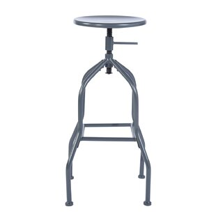 Review Falmouth Height Adjustable Swivel Bar Stool (Set Of 2)