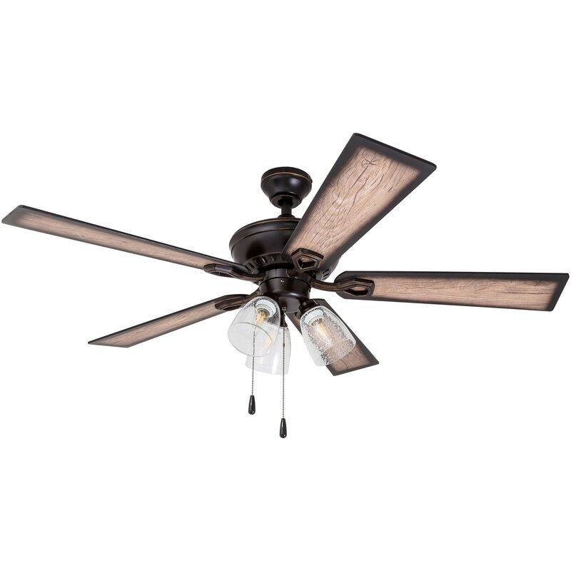 52 ohanlon 5 blade led ceiling fan