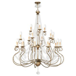Astoria Grand Charley 6-Light Candle Style Chandelier