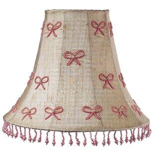 Pearl Bow 16 Silk Bell Lamp Shade