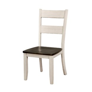 Hearn Solid Wood Dining Chair (Set of 2) August Grove