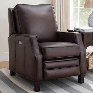Sussman Leather Power Rocker Recliner Red Barrel Studio Great Reviews
