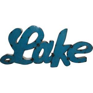 Lake Sign Wall Du00e9cor