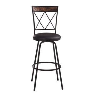 World Menagerie Shaurya Swivel Bar Stool