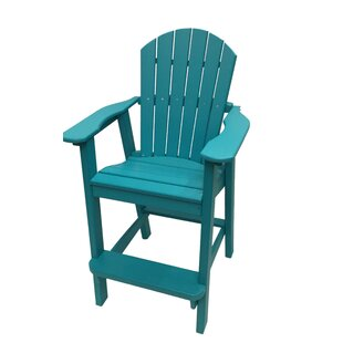 Phat Tommy Plastic/Resin Adirondack Chair By Buyers Choice