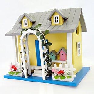 Home Bazaar Hatchling Series Park Villa May 10 in x 7 in x 7 in Birdhouse