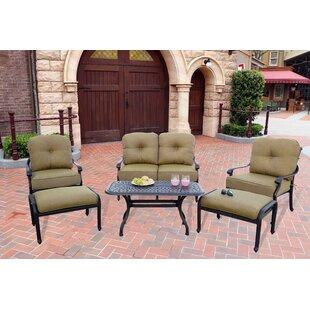 Calhoun 6 Piece Sofa Set With Cushions by Fleur De Lis Living Design