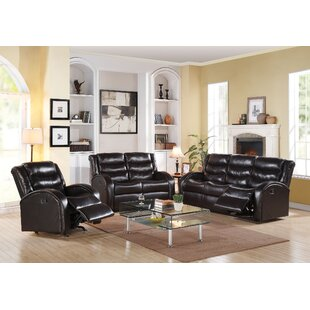 Tinnin Reclining Motion 3 Piece Living Ro..