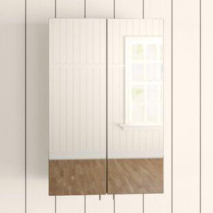 Avisio 45cm X 70cm Double Door Corner Cabinet By Croydex
