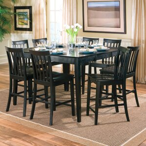 Square Kitchen  Dining Tables Youll Love Wayfair - High top dining room table