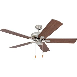 52 Hockensmith 5 Blade Ceiling Fan by Winston Porter