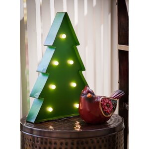 Christmas Tree  Marquee Sign