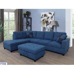 Russ Sectional  sc 1 st  Wayfair : denim sectional - Sectionals, Sofas & Couches