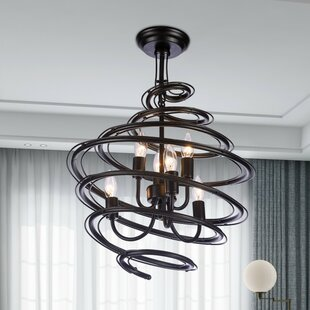 Kaydence 6-Light Geometric Chandelier by ..