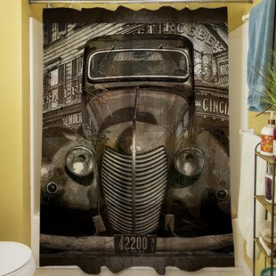 Best Choices Old New York Shower Curtain ByManual Woodworkers & Weavers