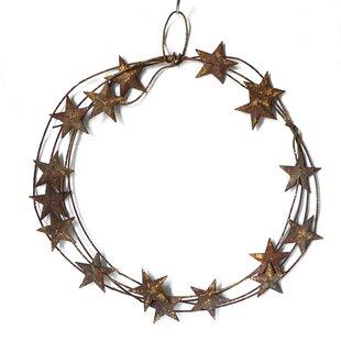 Christmas Metal Wreath By The Seasonal Aisle