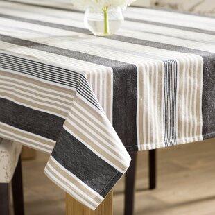 Stuyvesant Stripes Tablecloth