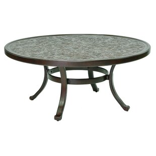 Carbone Vintage Aluminum Coffee Table