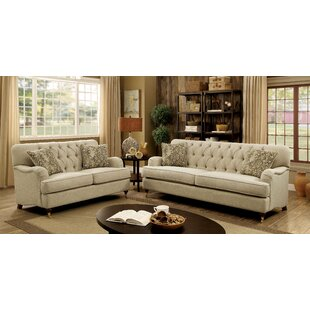 Broadway Configurable Living Room Set by Three Posts