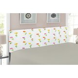 Ambesonne Watercolor Flower Upholstered Panel Headboard by East Urban Home