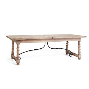 Jacinthe Solid Wood Dining Table by One Allium Way