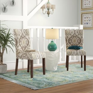 Neena Upholstered Dining Chair (Set Of 2) by Bungalow Rose Best #1
