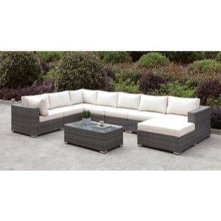Shearin 2 Piece Sectional Seating Group with Cushions by Ivy Bronx