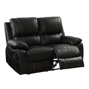Maine Contemporary Reclining Loveseat by ..