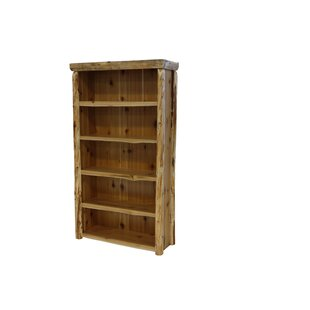 Traditional Cedar Log Standard Bookcase