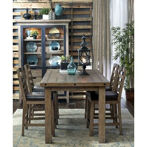 Fort Oglethorpe Metal Bracket Gathering Extendable Dining Table by Laurel Foundry Modern Farmhouse