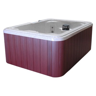 QCA Spas St. Lucia 4-Person 10-Jet Plug and Play Hot Tub