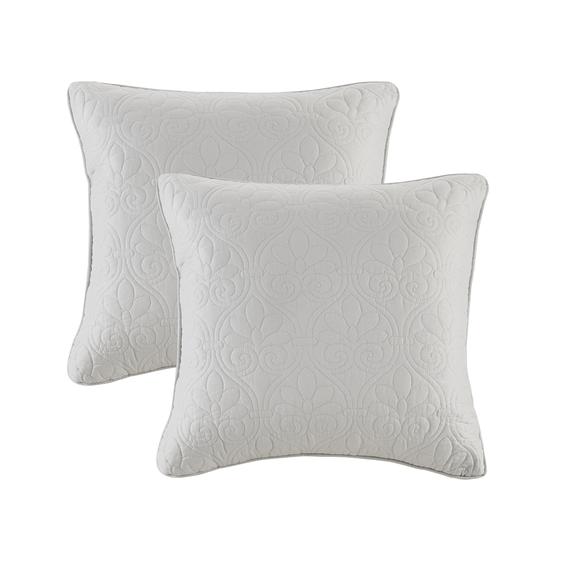 Gray Silver White Throw Pillows You Ll Love In 2020 Wayfair