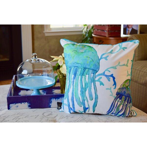Highland Dunes Honora Jellyfish Throw Pillow Wayfair