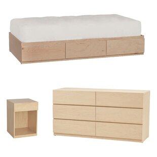 Langelier Platform Configurable Bedroom Set by Latitude Run Best Choices
