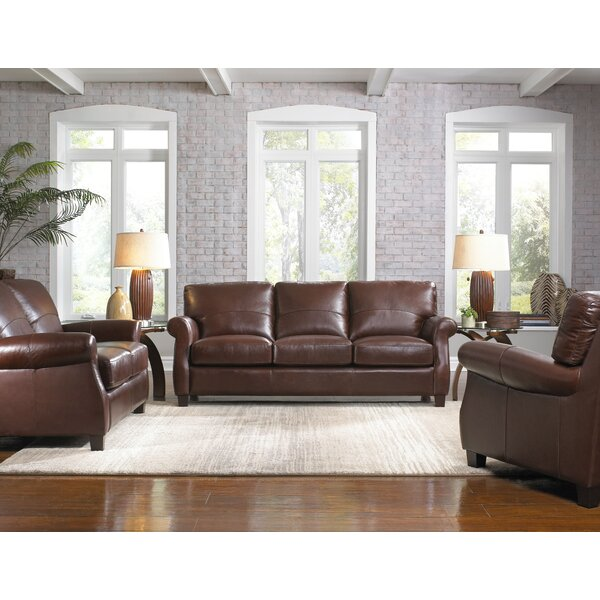 Lazzaro Leather Carlisle Configurable Living Room Set U0026 Reviews | Wayfair