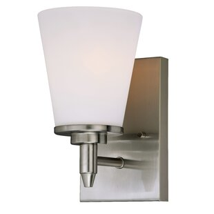 Acadia 1-Light Bath Sconce by Charlton Home