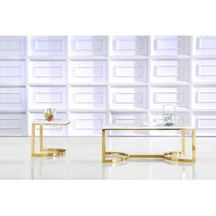 Everly Quinn Brookside 2 Piece Coffee Table Set