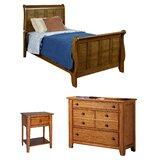 Truet Sleigh Configurable Bedroom Set by Millwood Pines