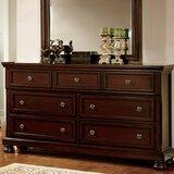 Joetta 7 Drawer Double Dresser by Darby Home Co