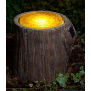 Hubler Woodland Decorative Tree Stump 1 Light Decorative And Accent Light By Sol 72 Outdoor