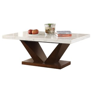 Reding Solid Coffee Table By Latitude Run