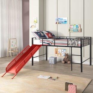 Lightner Twin Loft Bed With Slide
