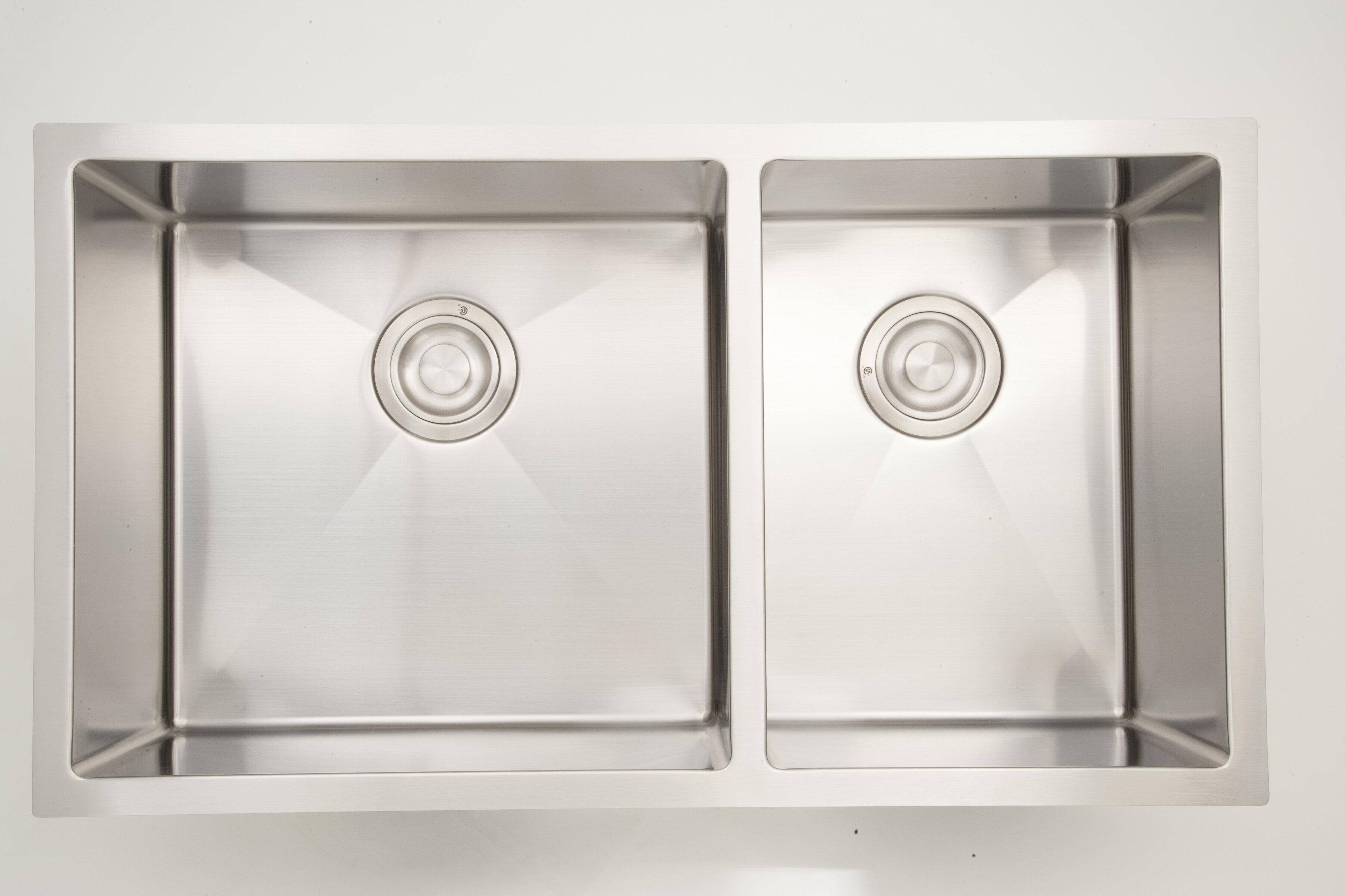 Double Basin Undermount Kitchen