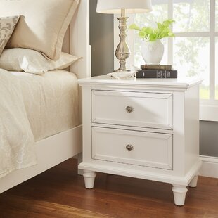 Rae 2 Drawer Nightstand