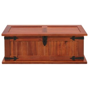 Arndt Solid Acacia Wood Storage Chest By Bloomsbury Market