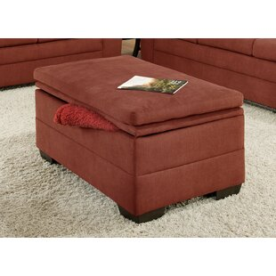 Stephen Storage Ottoman by Red..
