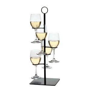 Gary Flight Server 5 Bottle Tabletop Wine..